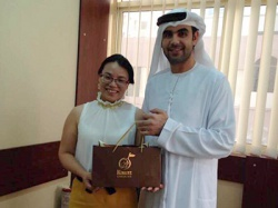 阿拉伯礼品盒合作案例