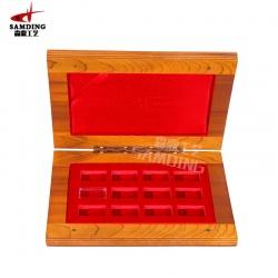 纪念币包装木盒