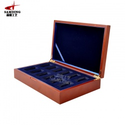 木制纪念币盒厂家定做,木制纪念币盒报价,木制纪念币盒订制-森鼎工艺(图)